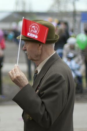 Первомайский парад 2012 Лысьва